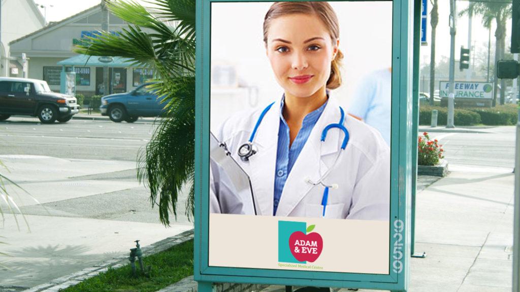 Adam and Eve Dubai Hospital Branding Design Presentation