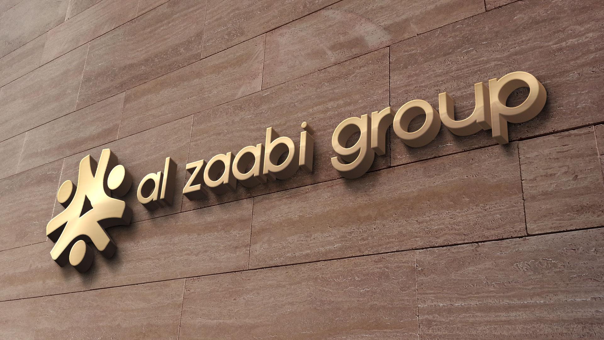Al Zaabi Group Abu Dhabi Logo Design Presentation