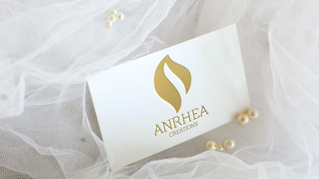 Anrhea Creations Bangalore Logo Design