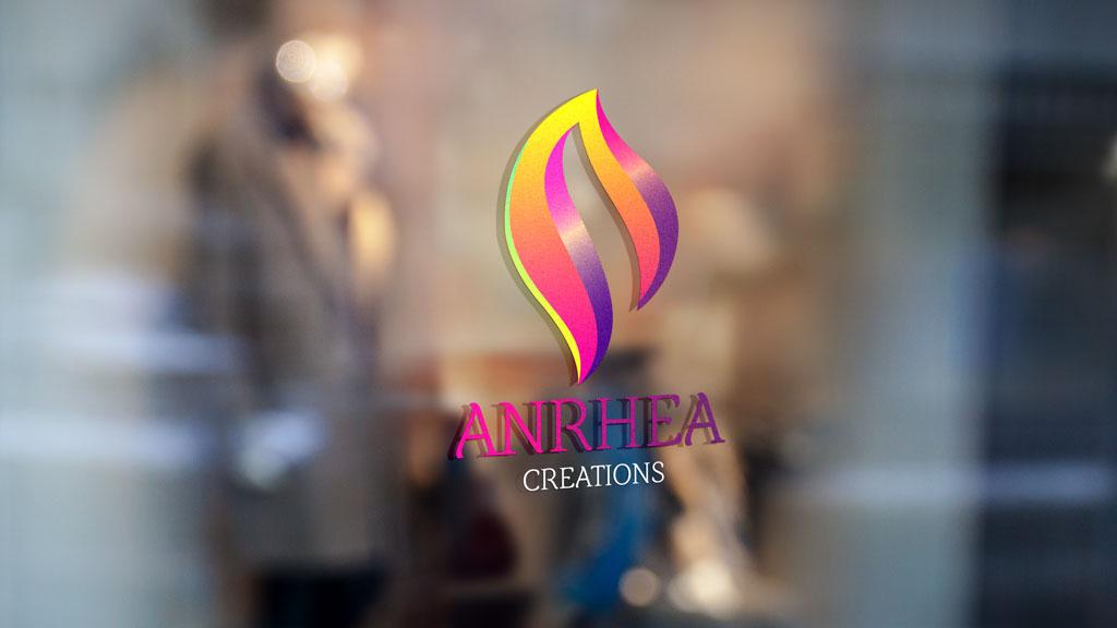 Anrhea Creations Boutique Bangalore Logo Design