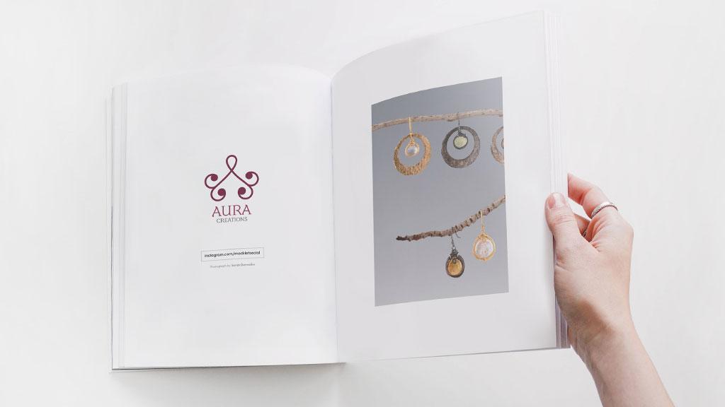 Aura Creations Kerala Brochure Design