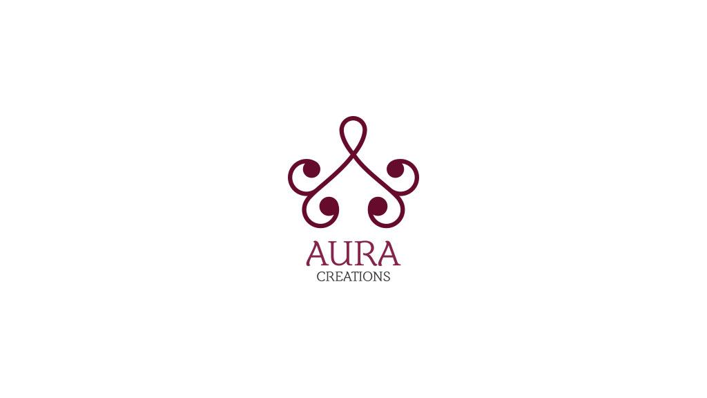 Aura Creations Kerala Logo Design