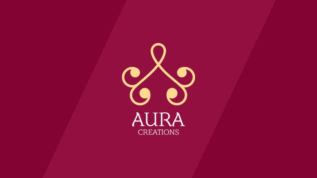 Aura Creations Thrissur Logo Design