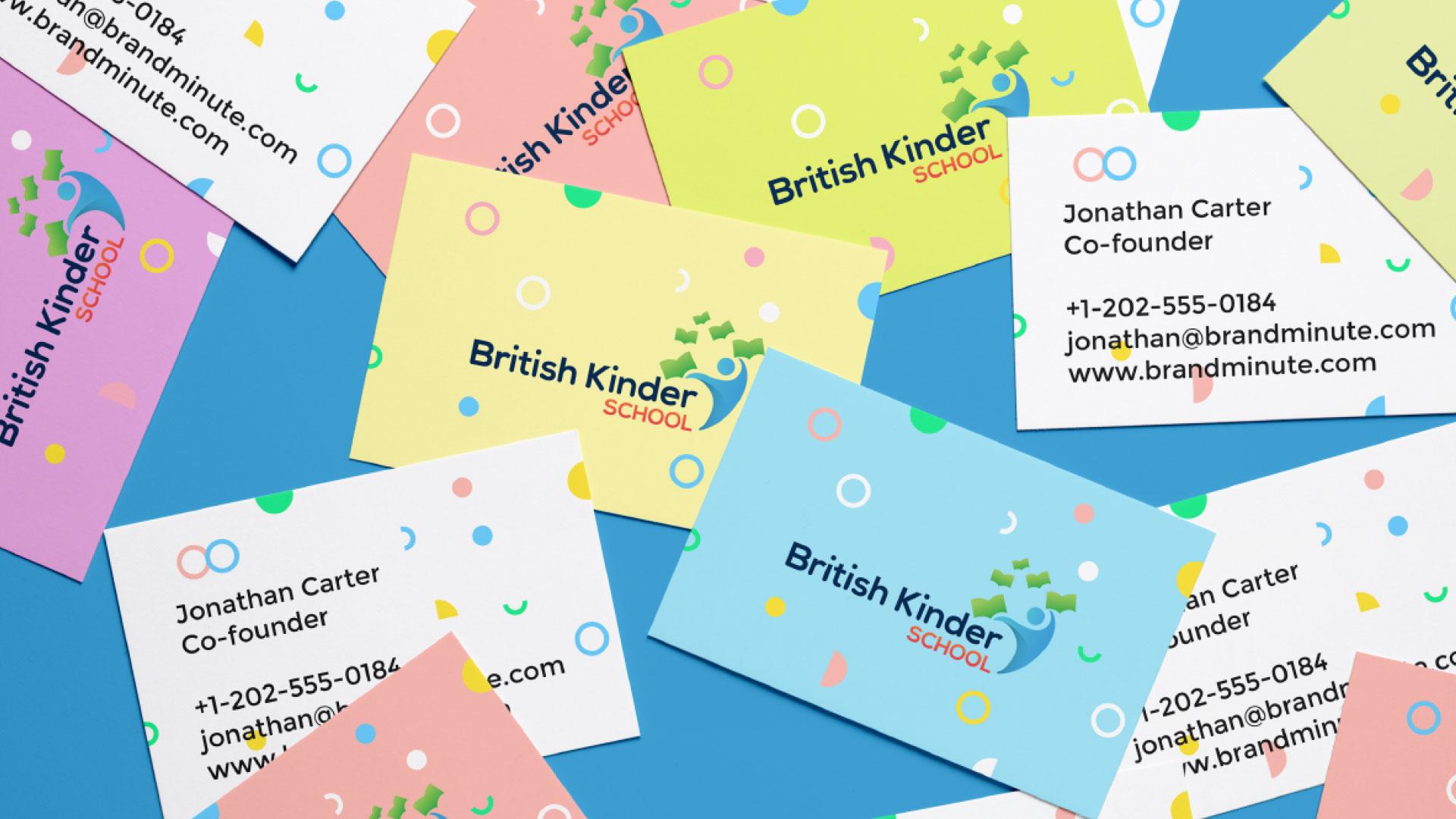 British Kinder School Branding Design