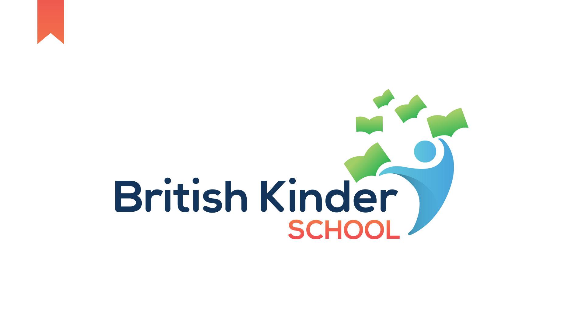 British Kinder School Kottayam Logo Design
