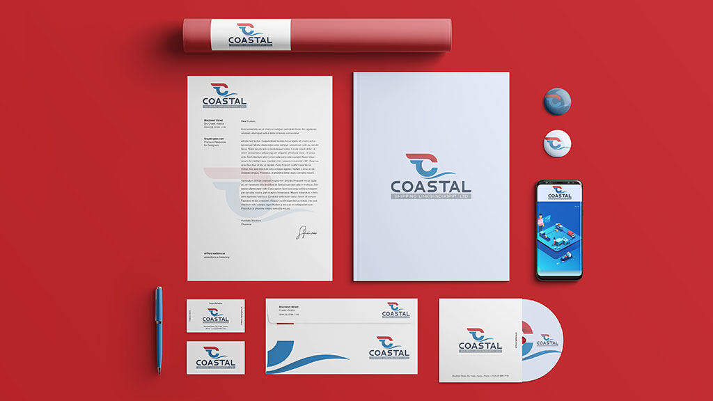 Coastal Shipping Links India Branding Designs