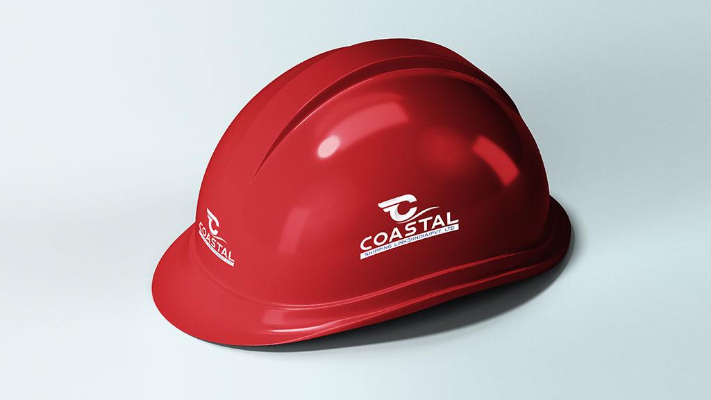 Coastal Shipping Links India Company logo Design