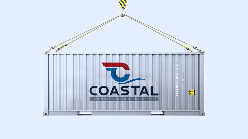 Coastal Shipping Links India Logo Design