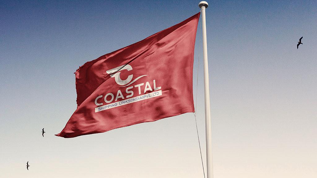 Coastal Shipping Links India Logo