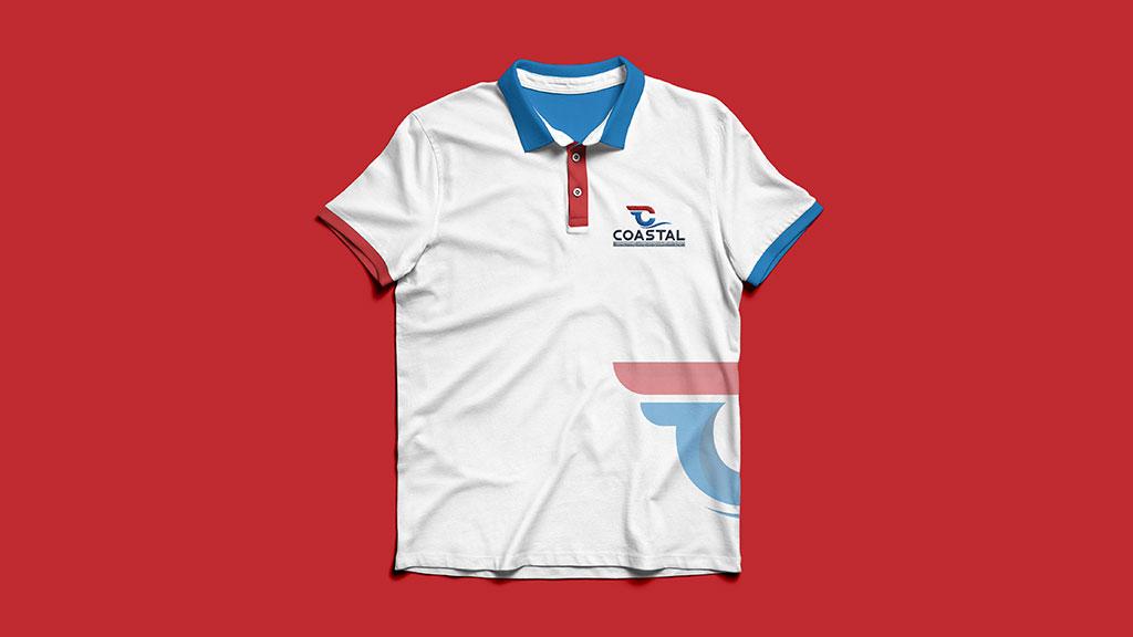 Coastal Shipping Links India Tshirt Design