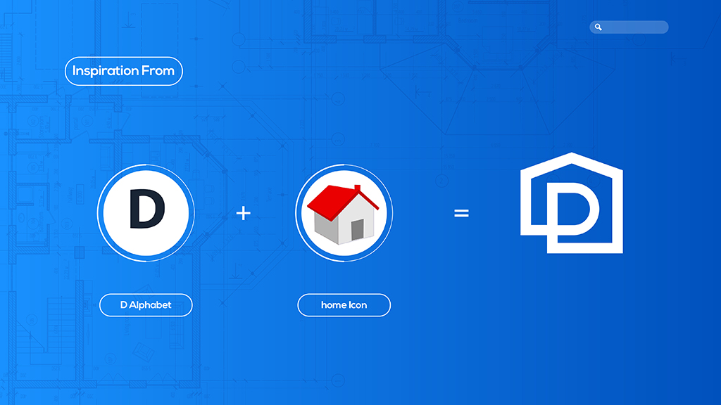 DTALE Architects Engineers Logo Concept Explanation