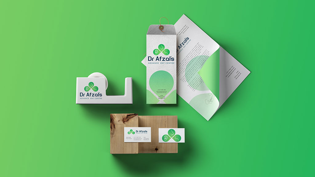 Dr Afzal ENT Care Branding Presentation jpg