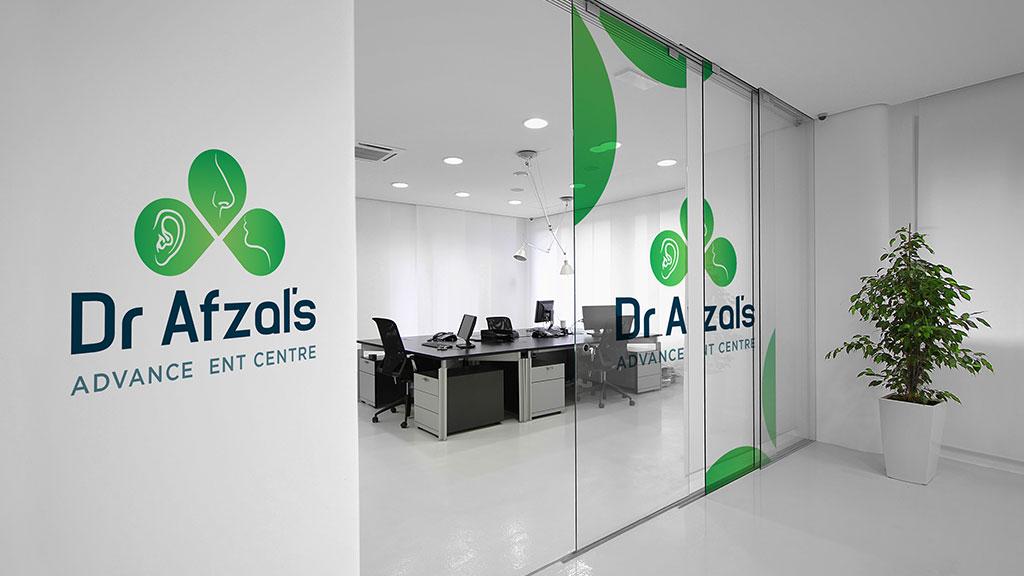 Dr Afzal ENT Care Hospital Logo Design