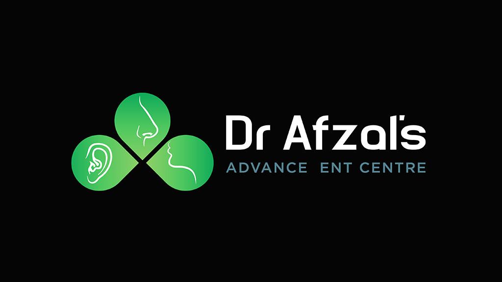 Dr Afzal ENT Hospital Logo Design
