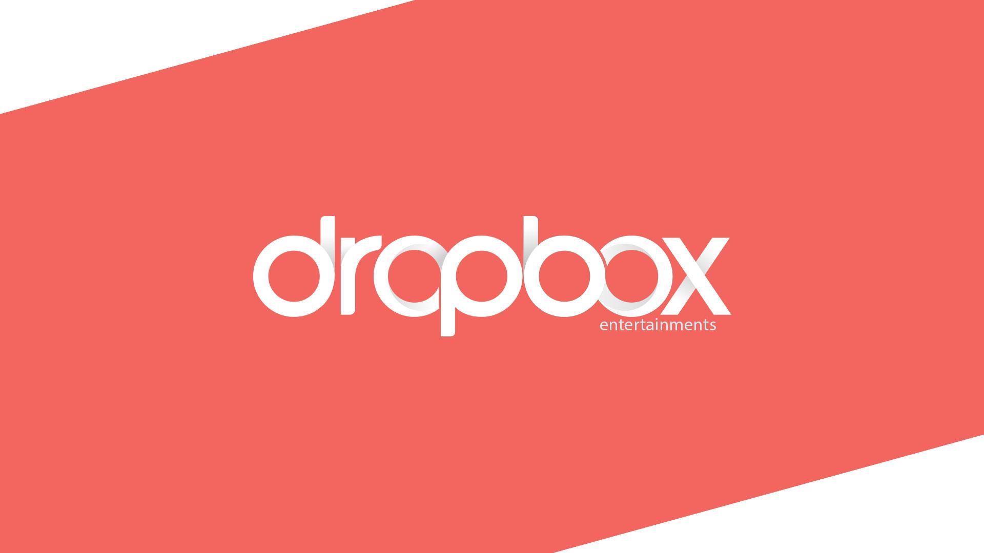 Dropbox Entertainments Logo Design by ZeroBulb Company
