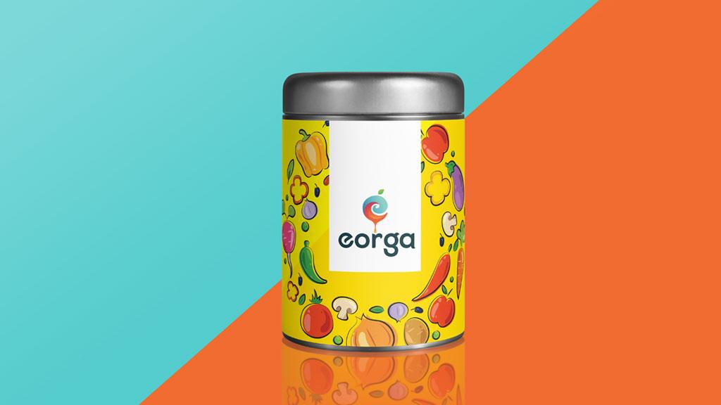 Eorga Organic Company Bangalore Logo Design