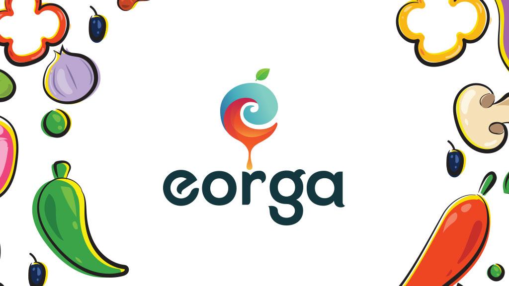 Eorga Organic Company Kerala Logo Design