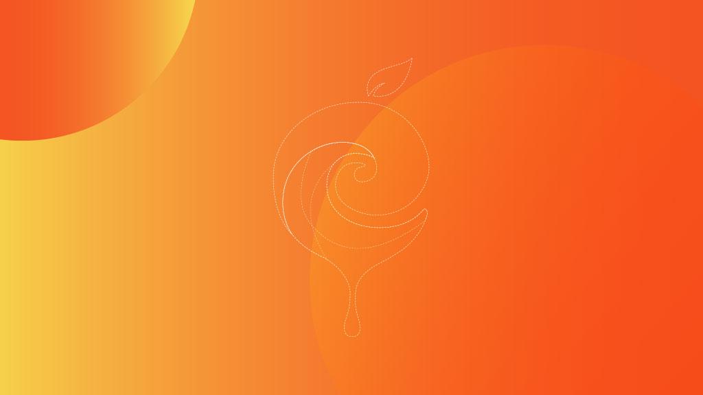 Eorga Organic Company Outline Logo Design