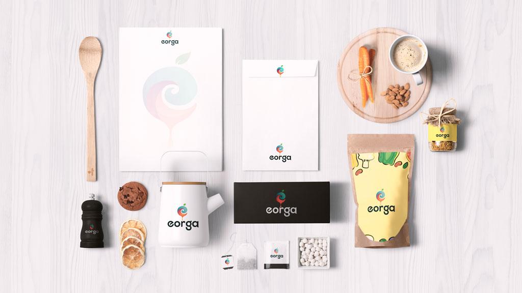 Eorga Organic Foods Bangalore Branding Design Presentation