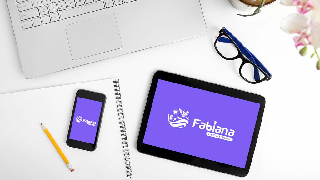 Fabiana Foods Dubai Logo Design 1