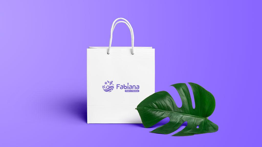 Fabiana Foods Dubai Shopping Bag Design