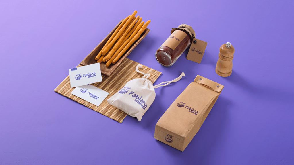 Fabiana Foods India Branding Designs