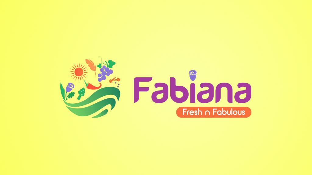 Fabiana Foods India Logo Design