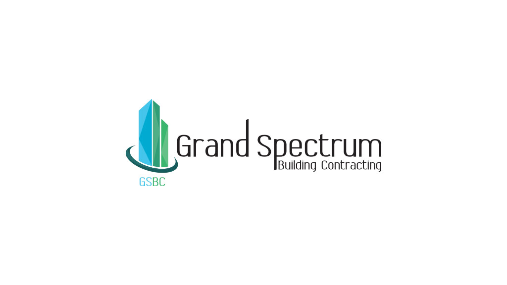Grand Spectrum Building Contracting Dubai Logo Design
