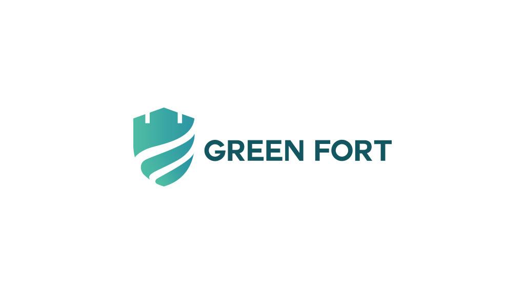 Green Fort Logo Design Saudi Arabia