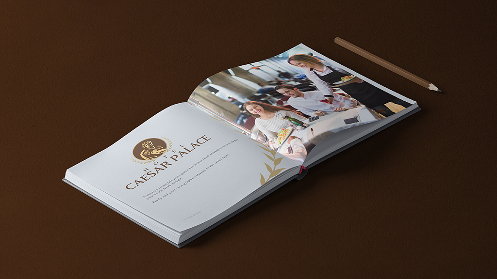 Hotel Caesar Palace Brochure Design
