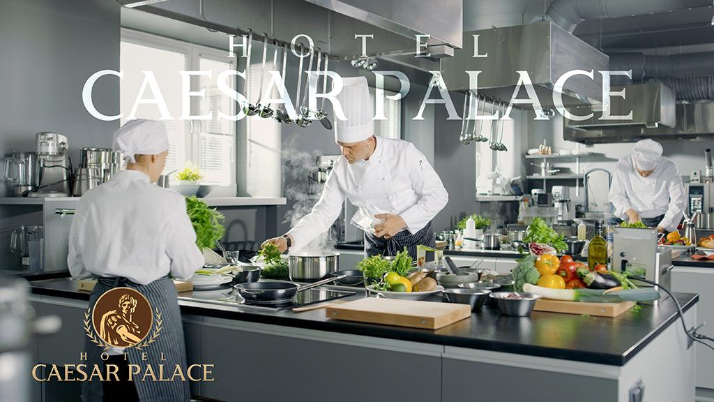 Hotel Caesar Palace Kerala Brochure with Chef Design