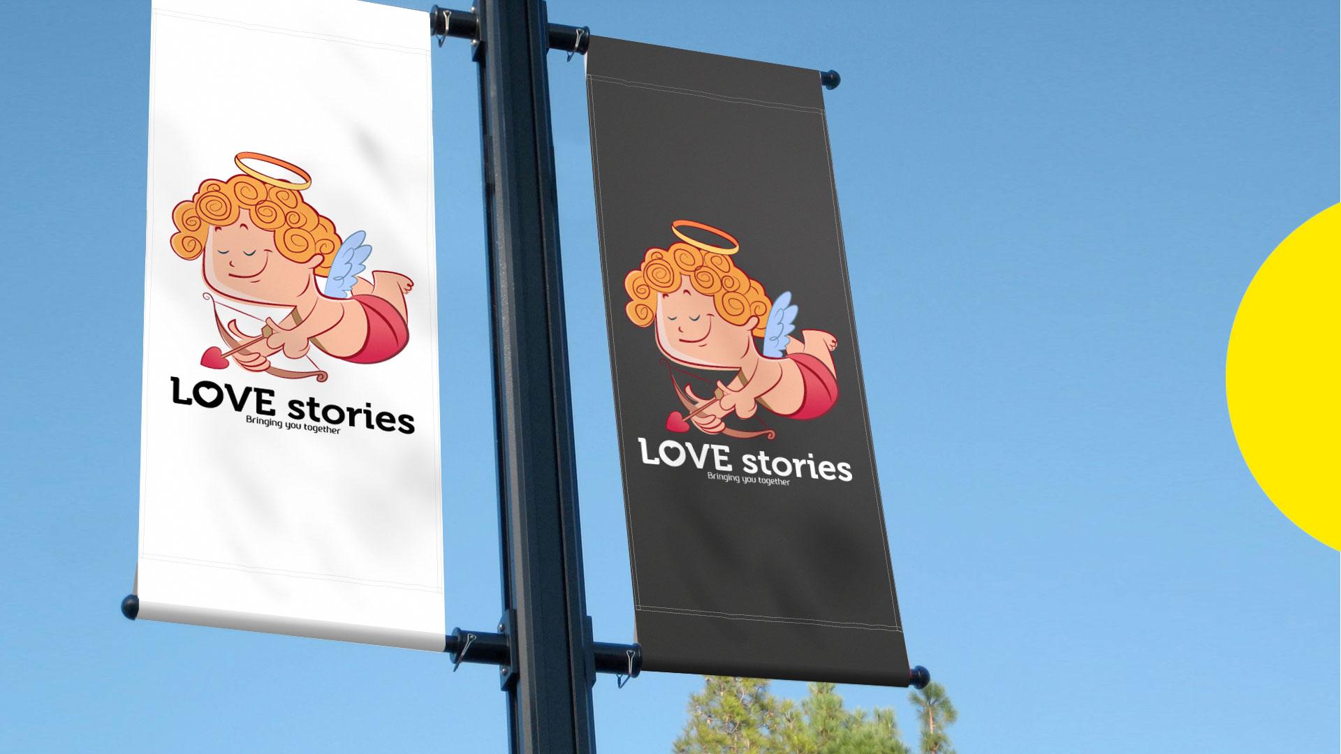 Love Stories Bangalore Branding and Logo Design by ZeroBulb