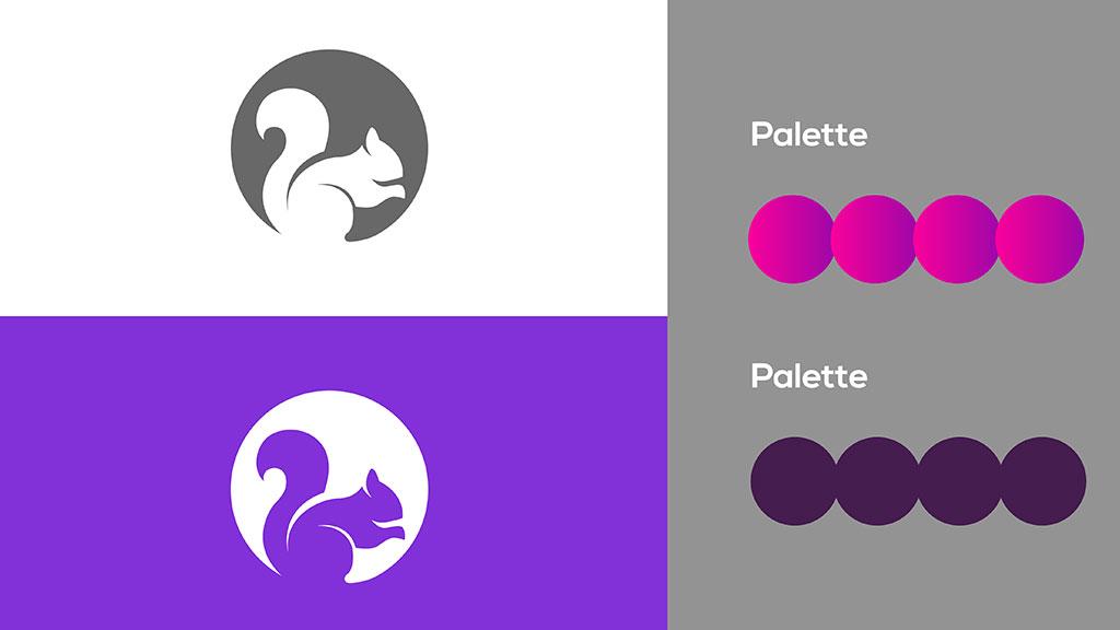 Luminous Film Factory Kerala Logo Design Color Details