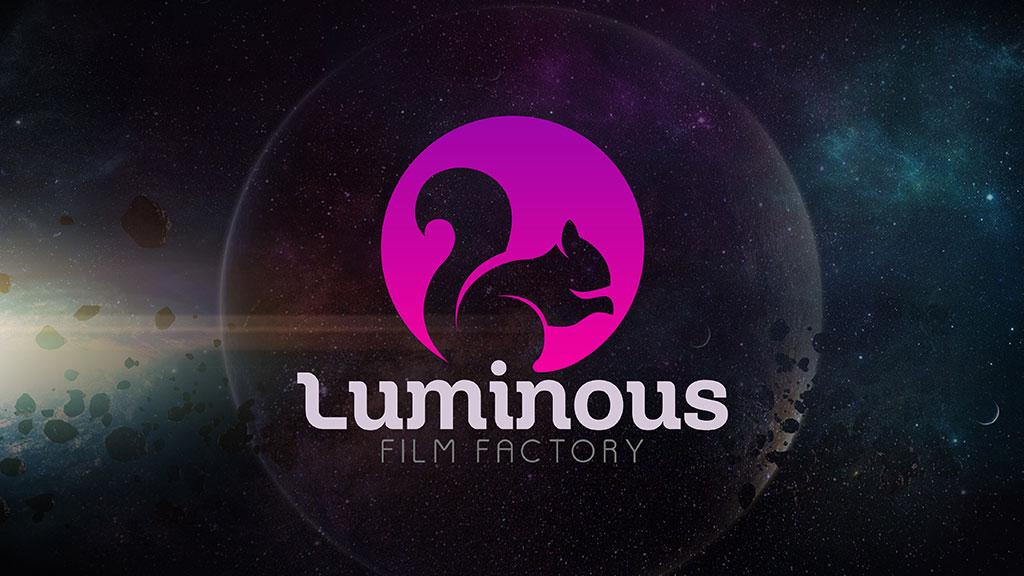 Luminous Film Factory Logo Presentation