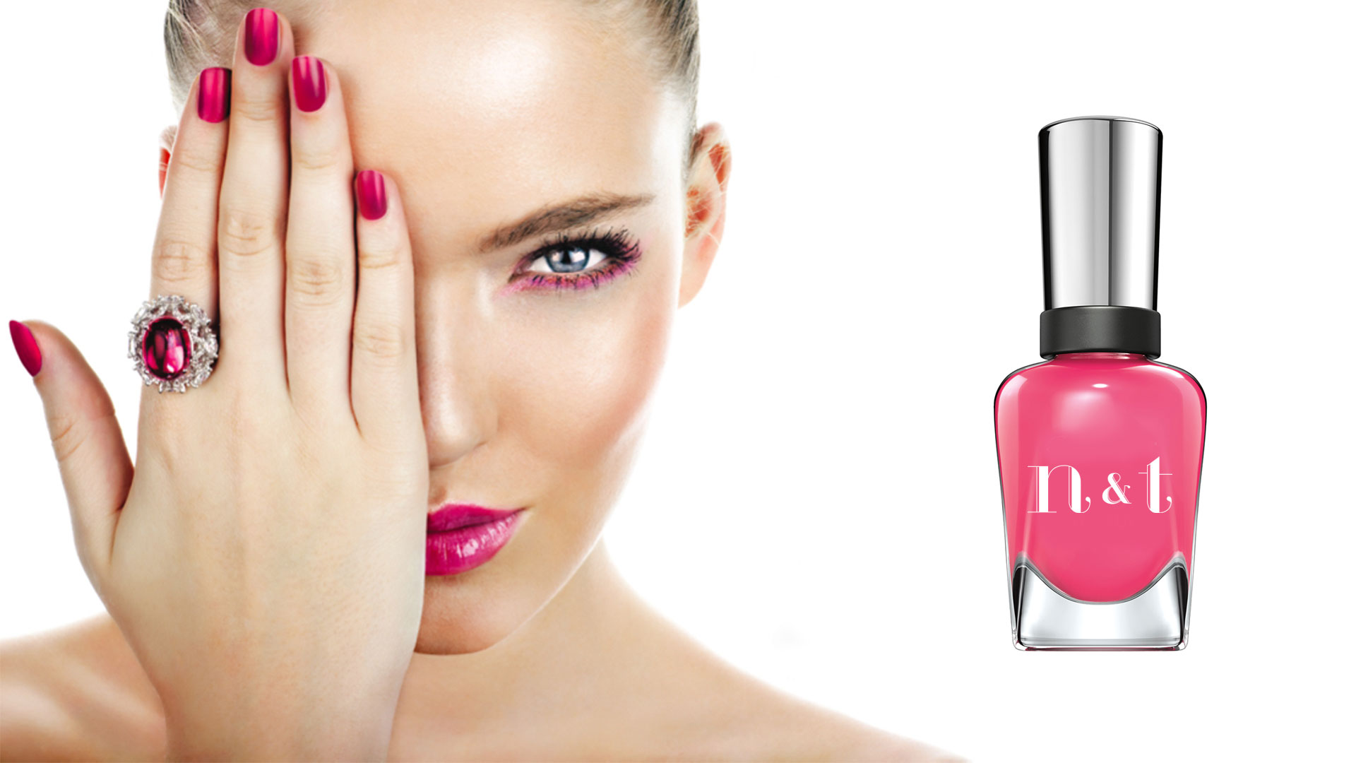 Nails and Toes Beauty Salon Logo Design