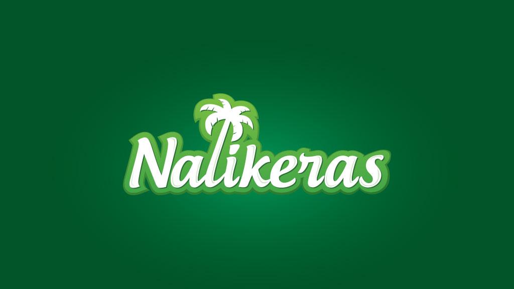 Nalikeras Coconut Oil Manufactures Logo Design