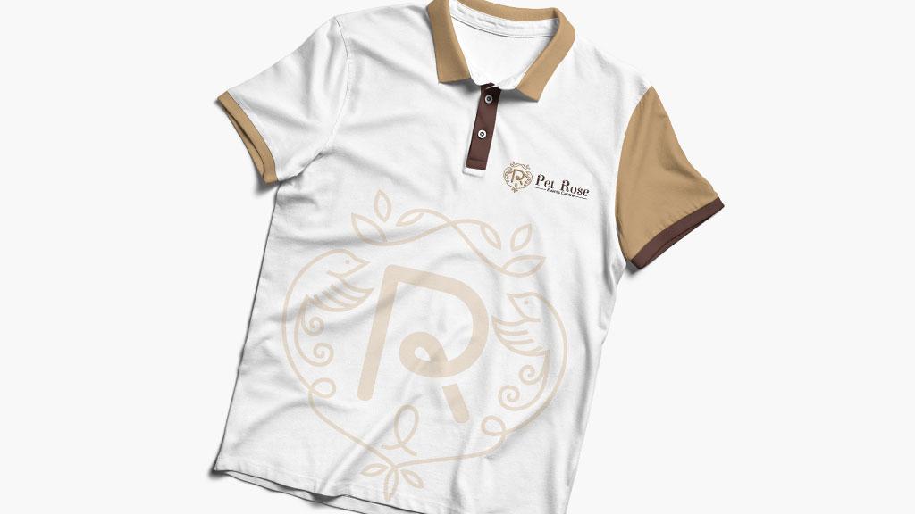Pet Rose Events Centre Tshirt Logo design by ZeroBulb