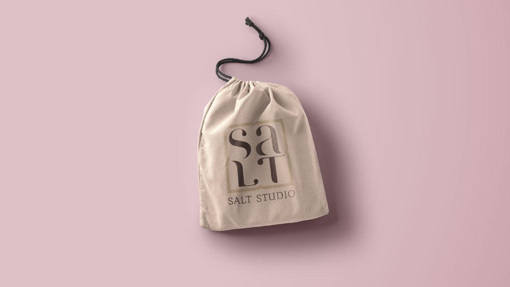 Salt Studio Boutique Logo Design Cochin