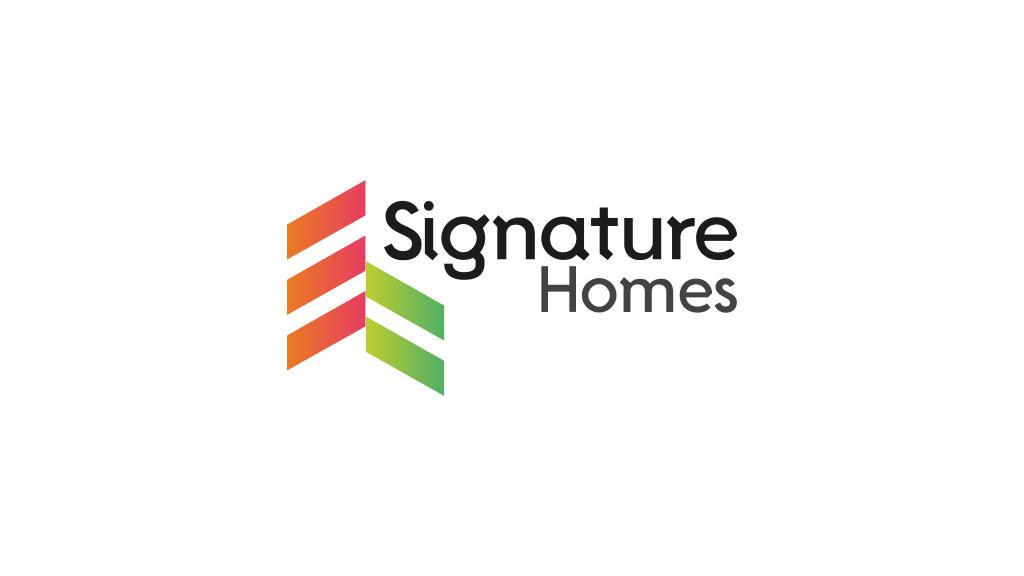 Signature Homes UAE Logo Designed by ZeroBulb Company
