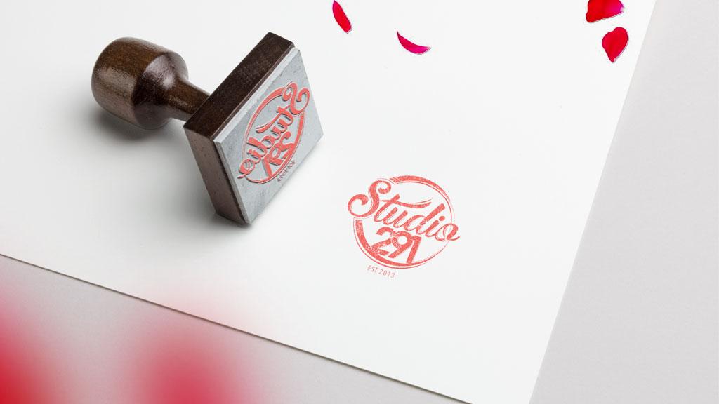 Studio 291 Mumbai Boutique Logo Design ZeroBulb