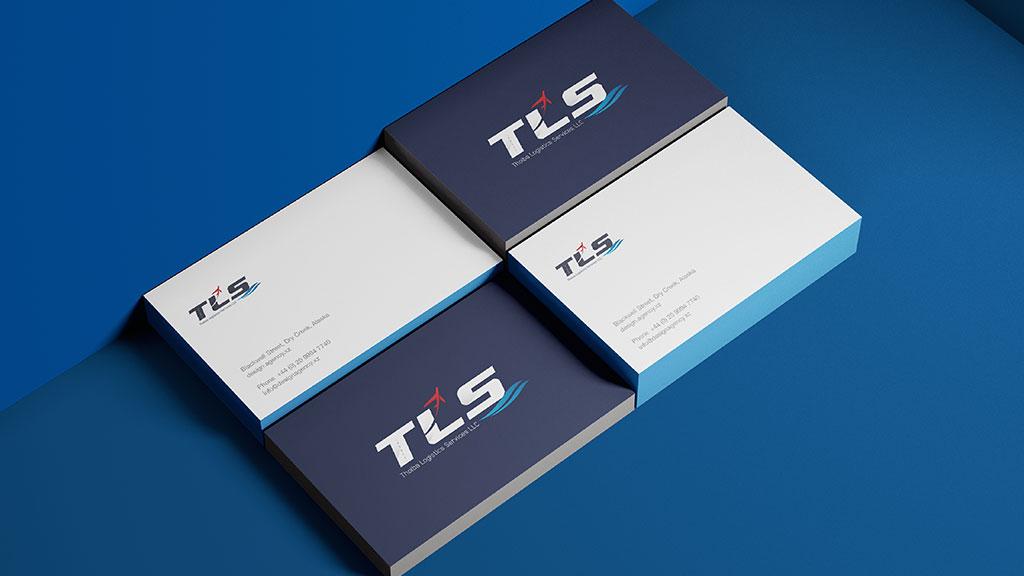 Thoiba Logistics Dubai Branding Visiting Card