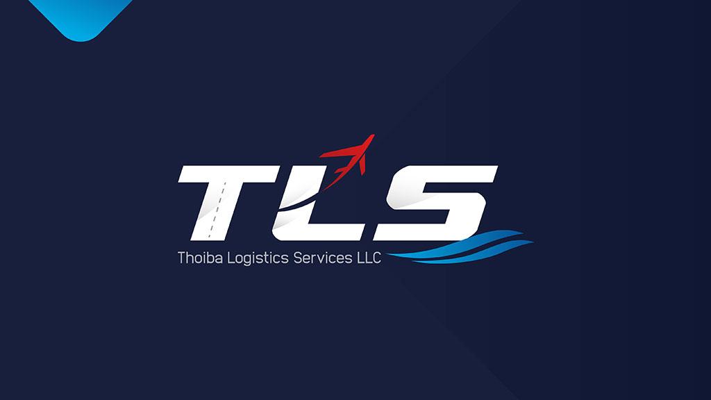 Thoiba Logistics Dubai Logo Design