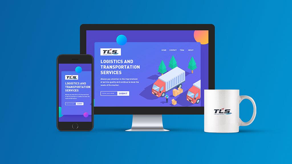 Thoiba Logistics Dubai Website Design