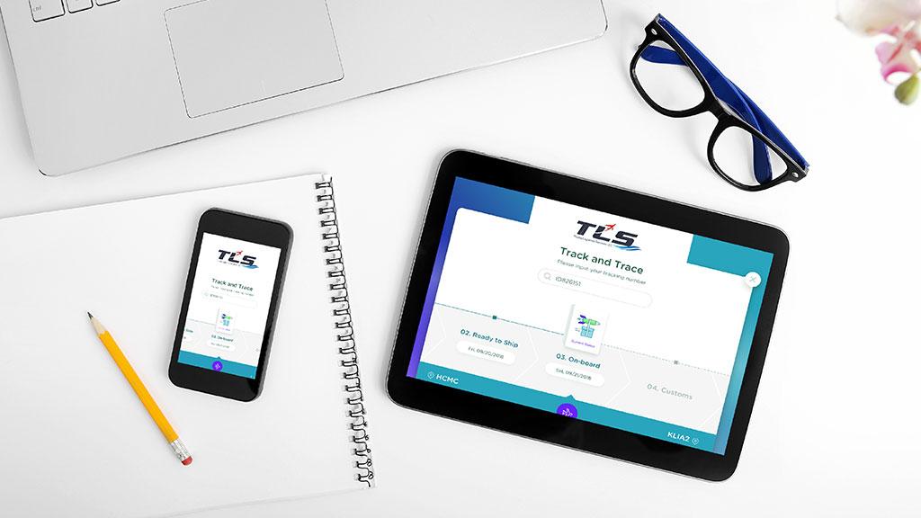 Thoiba Logistics Dubai Website