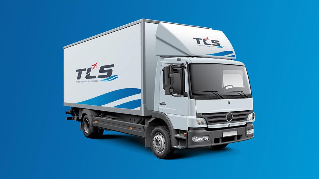 Thoiba Logistics Services Company Dubai Branding