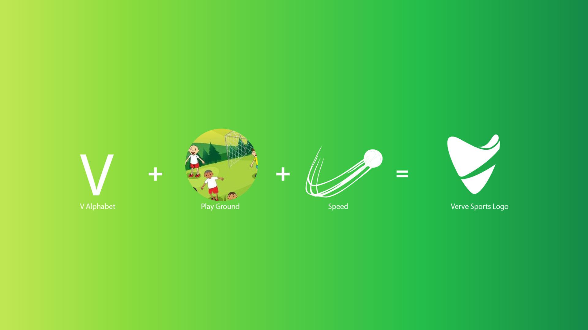 Verve Sports Logo Formation Presentation