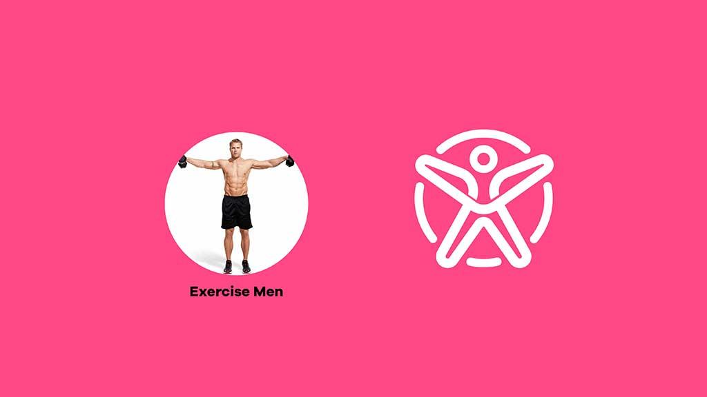 Fourset Fitness GYM Center Logo Design ZeroBulb Dubai