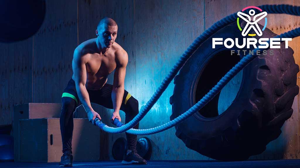 Fourset Fitness GYM Logo Design by ZeroBulb Kochi