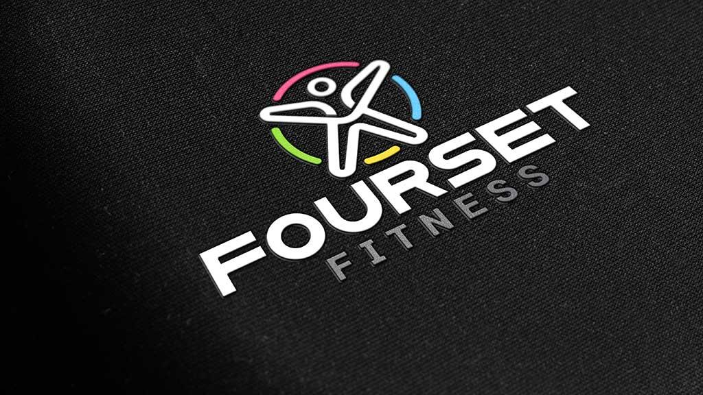 Fourset Fitness Logo Design UAE