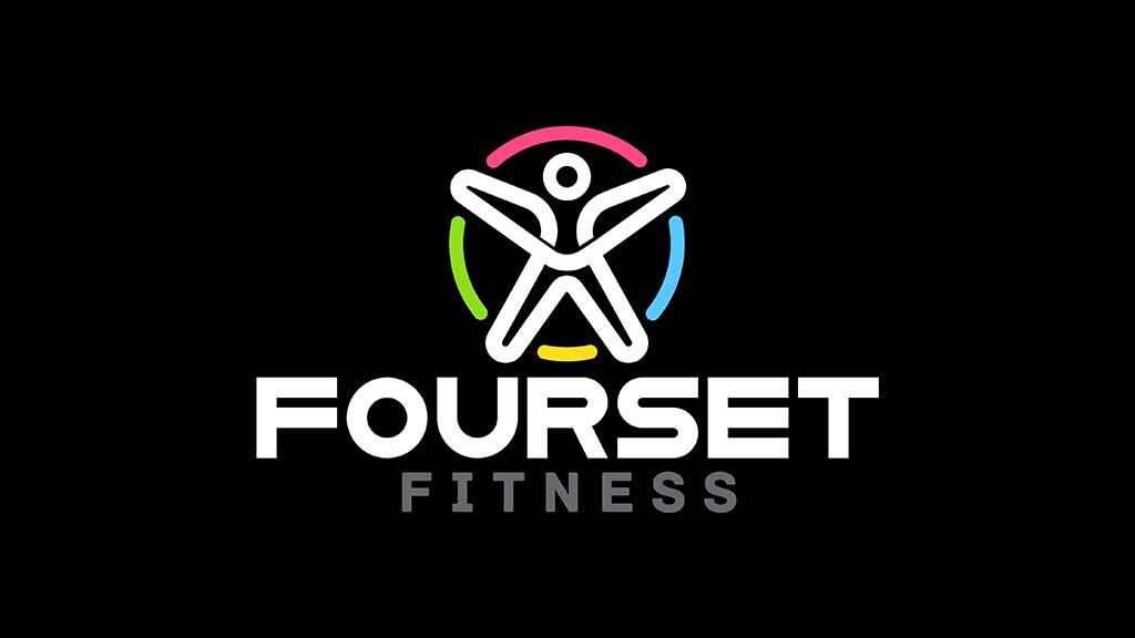 Fourset Fitness Logo Design